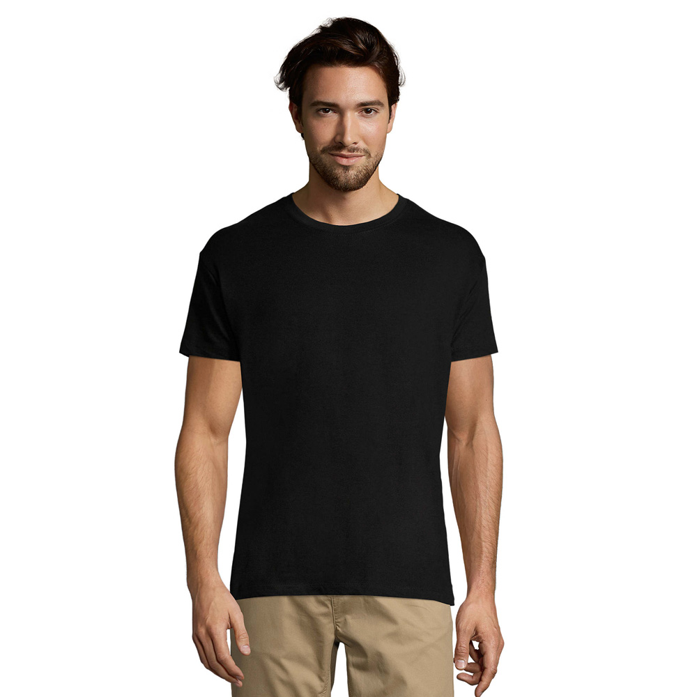 t shirt col rond unisexe